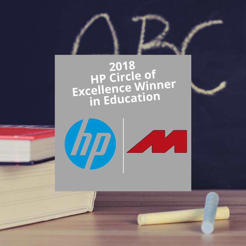 MicroK12 Awarded as 2018 HP Circle of Excellence (CoE) Winner in Education