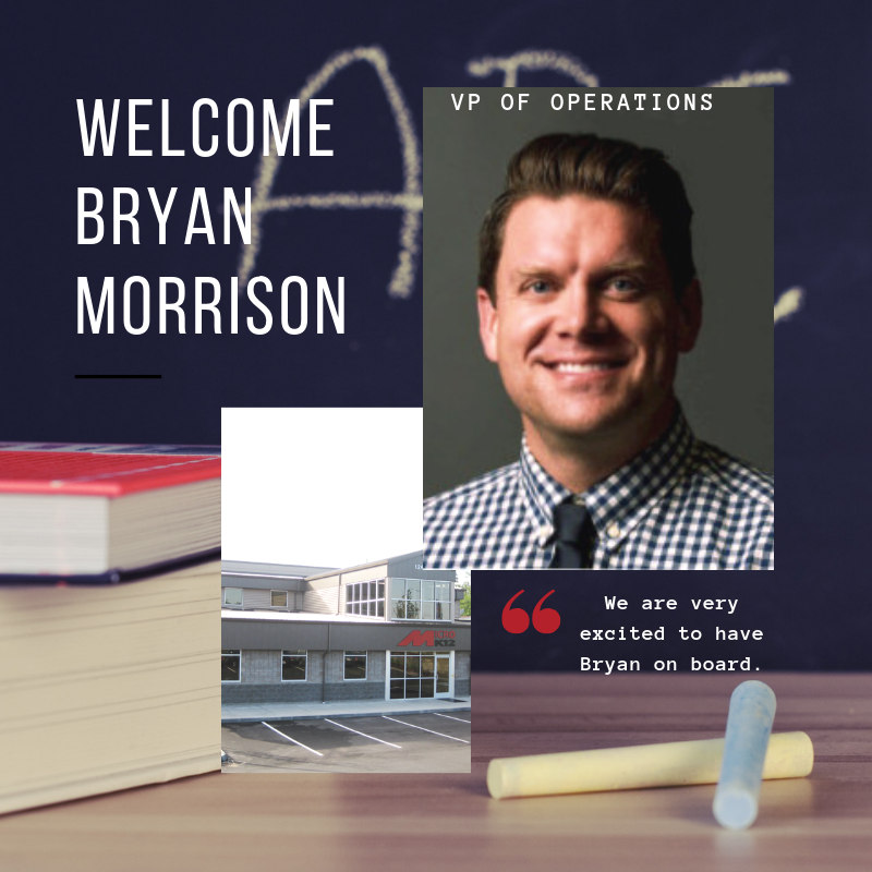 MicroK12 Announces Bryan Morrison As Its New VP of Operations